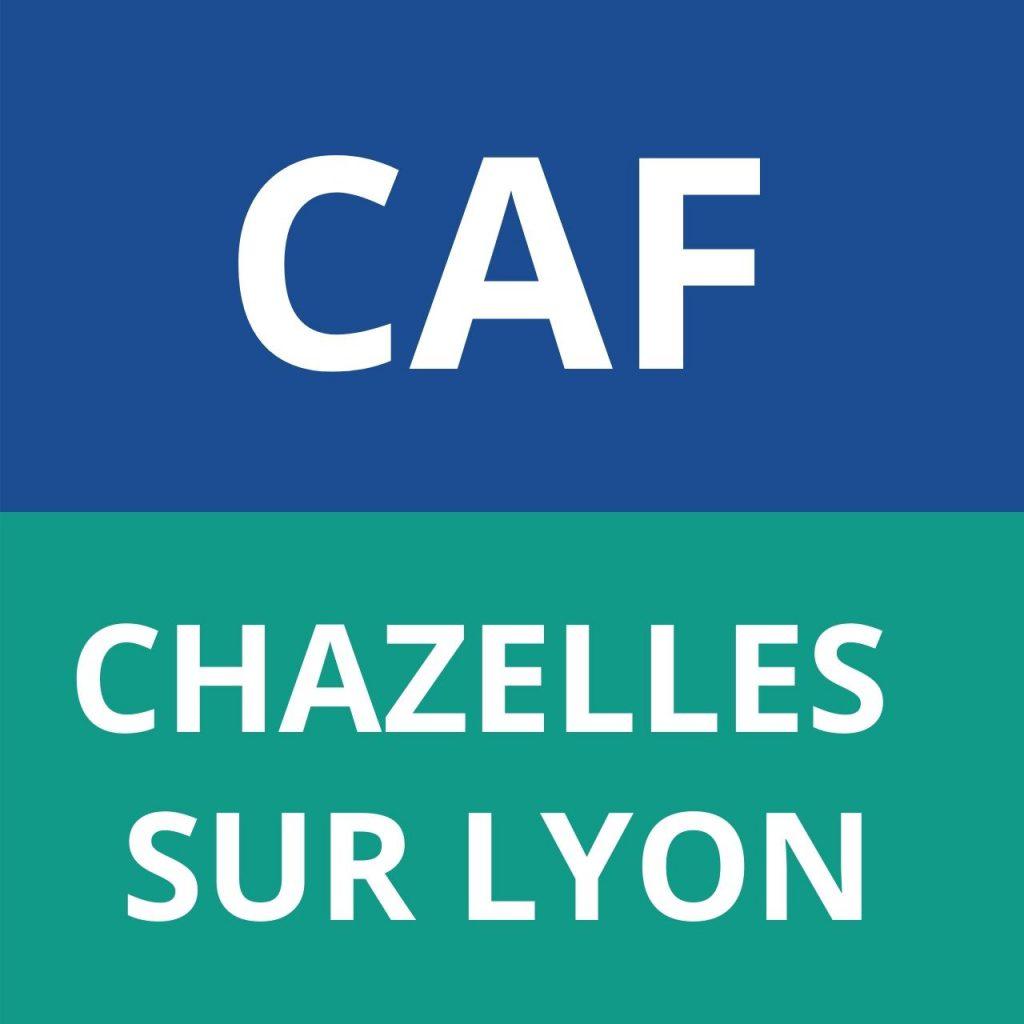 CAF CHAZELLES SUR LYON