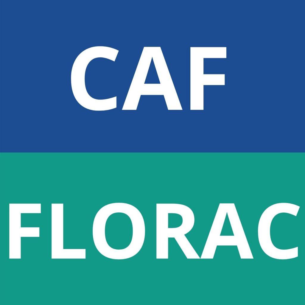 caf FLORAC