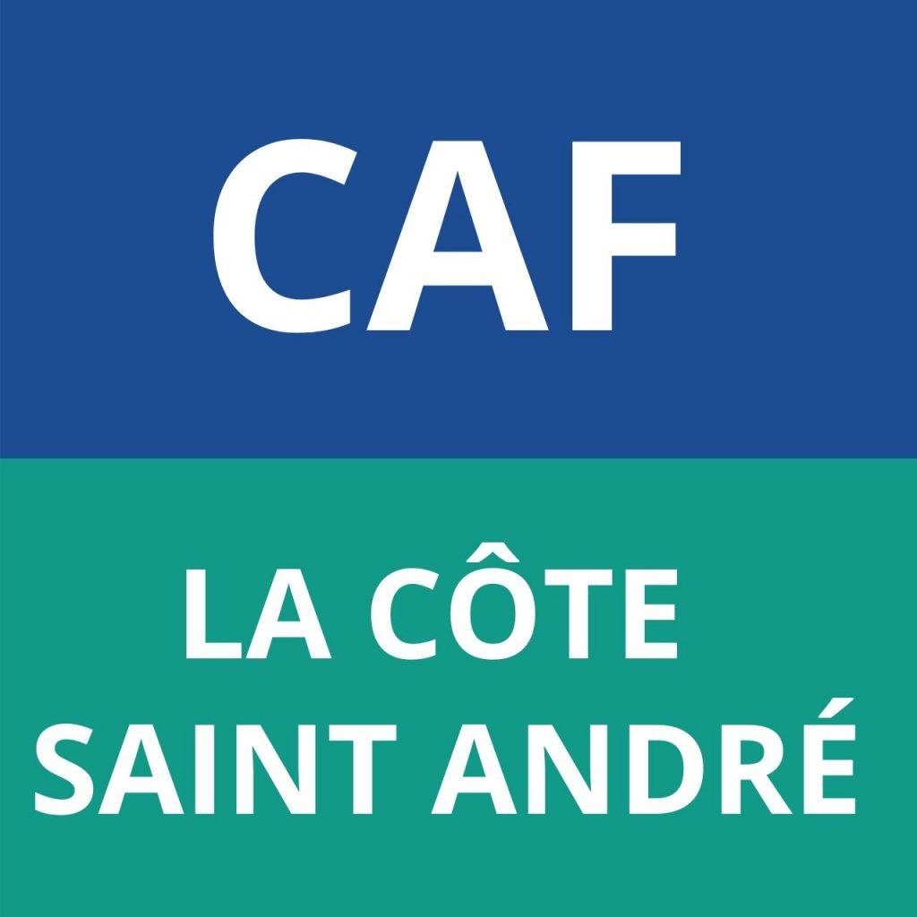 caf LA CÔTE SAINT ANDRÉ