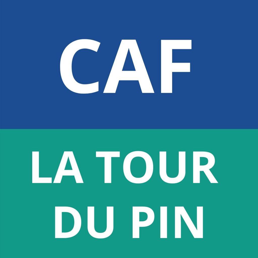 caf LA TOUR DU PIN