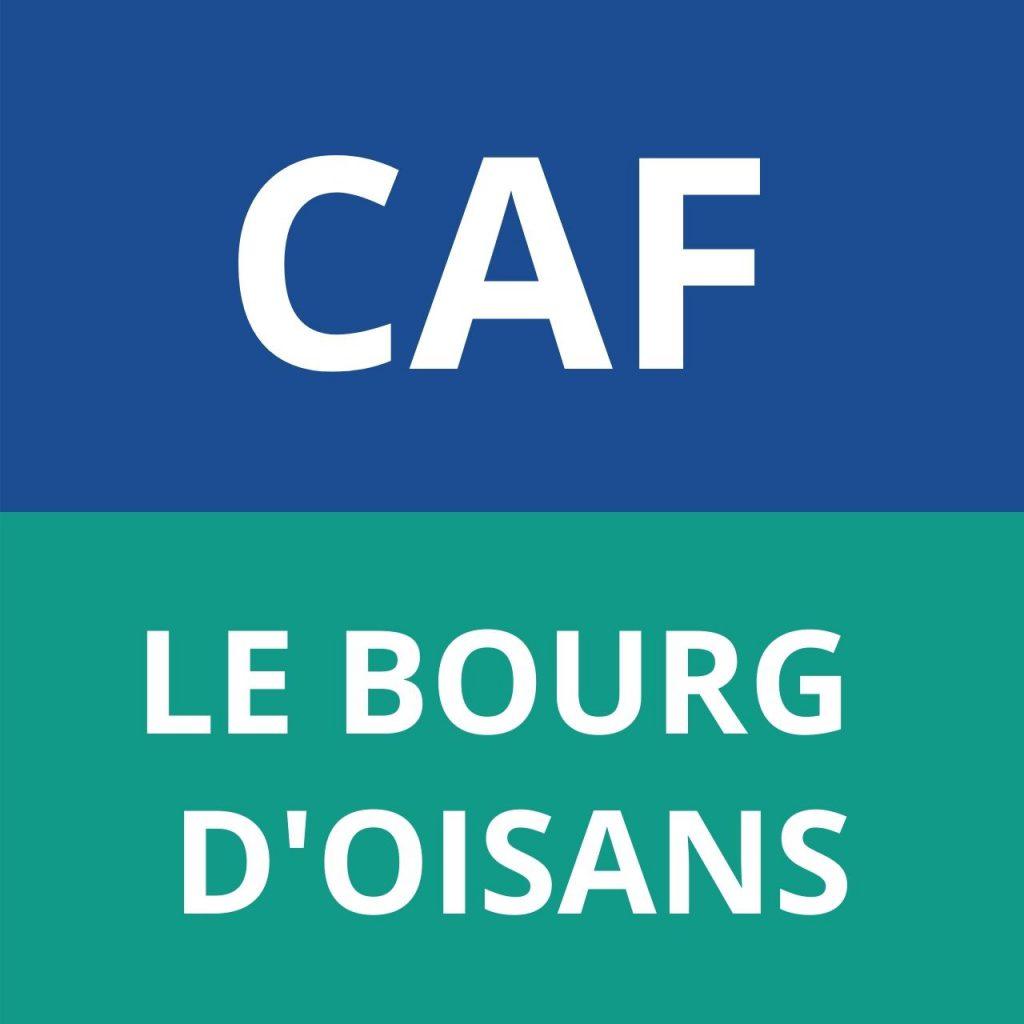 caf LE BOURG D'OISANS