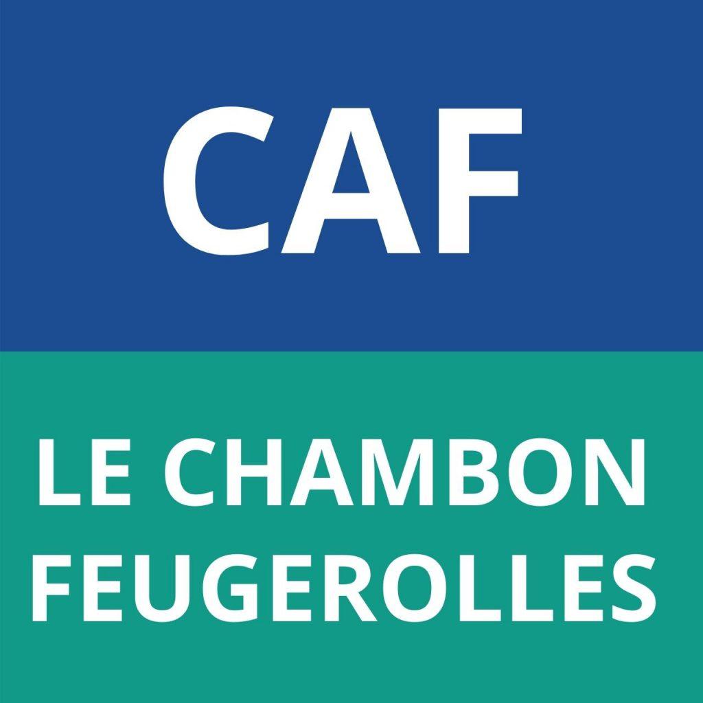 CAF LE CHAMBON-FEUGEROLLES