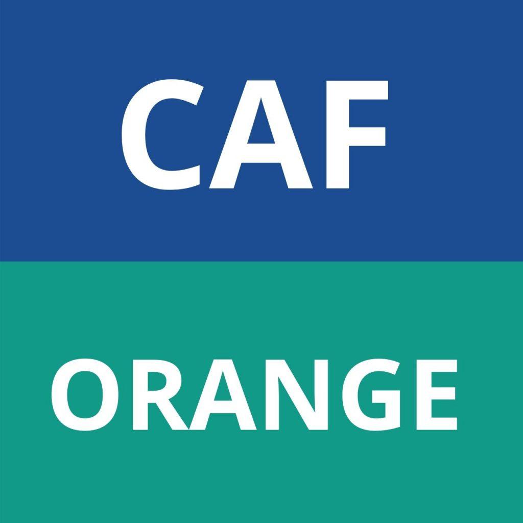 CAF ORANGE