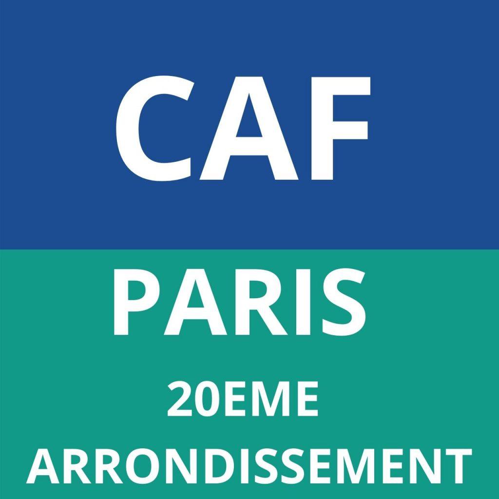 CAF PARIS - 20EME ARRONDISSEMENT