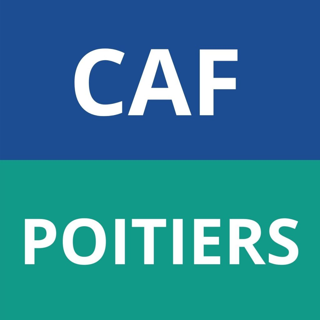CAF POITIERS logo