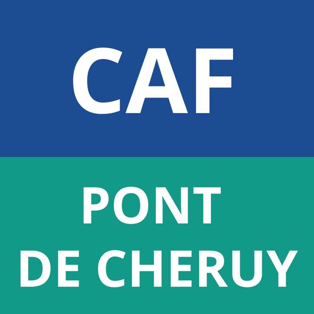 caf PONT DE CHERUY