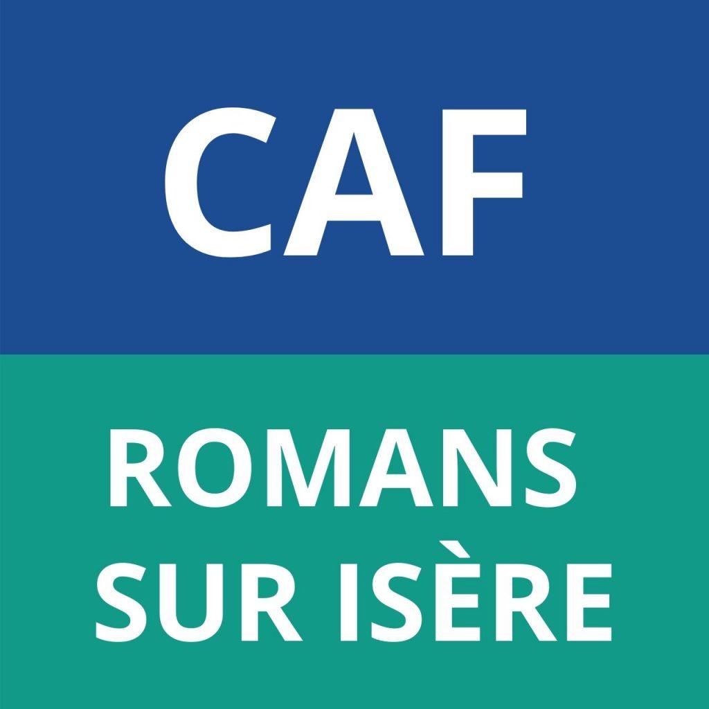 CAF ROMANS SUR ISERE
