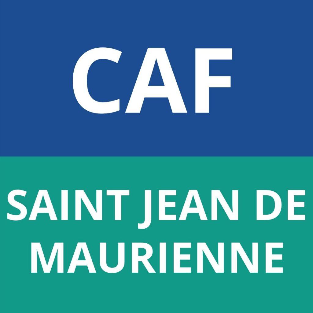 caf SAINT JEAN DE MAURIENNE