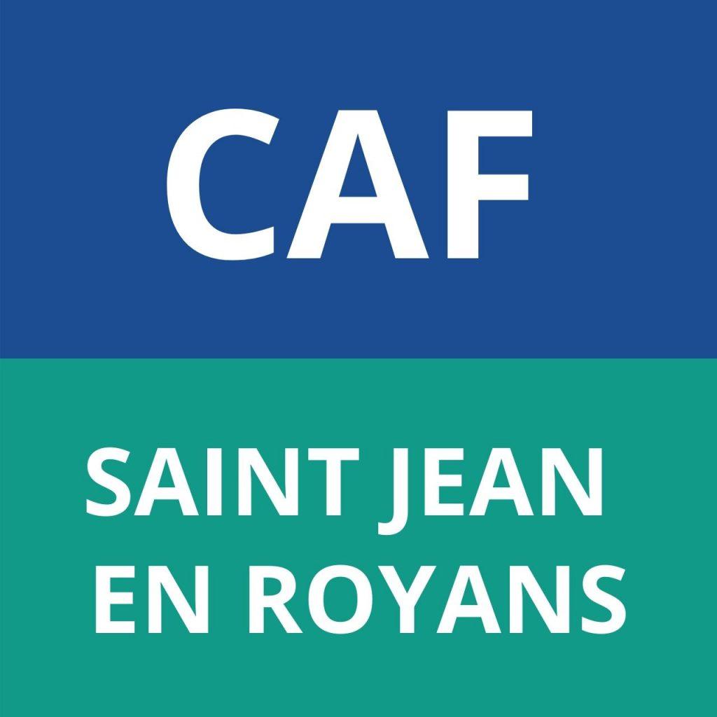 CAF SAINT JEAN EN ROYANS