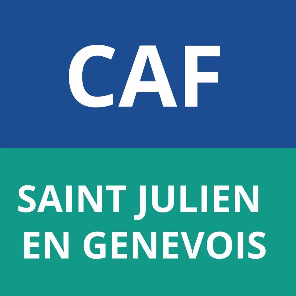 caf SAINT JULIEN EN GENEVOIS