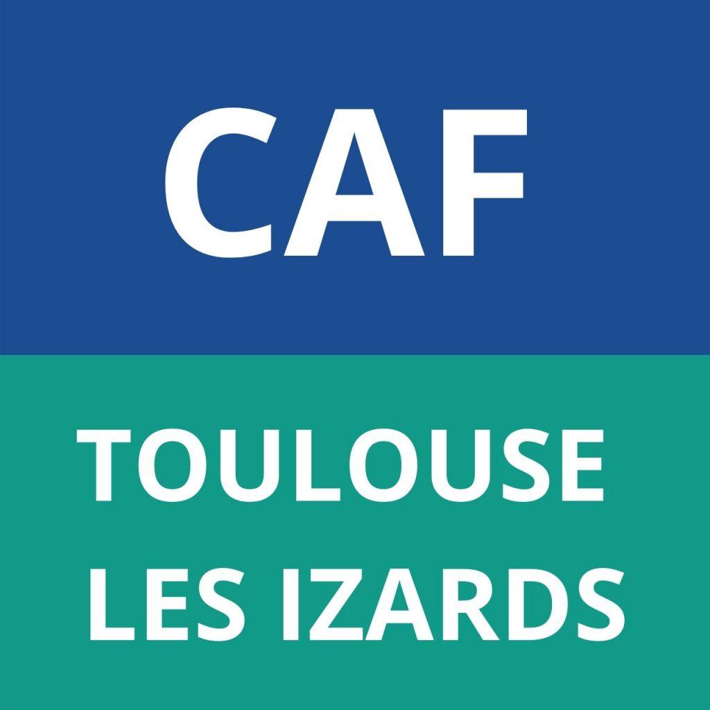 LOGO CAF TOULOUSE LES IZARDS