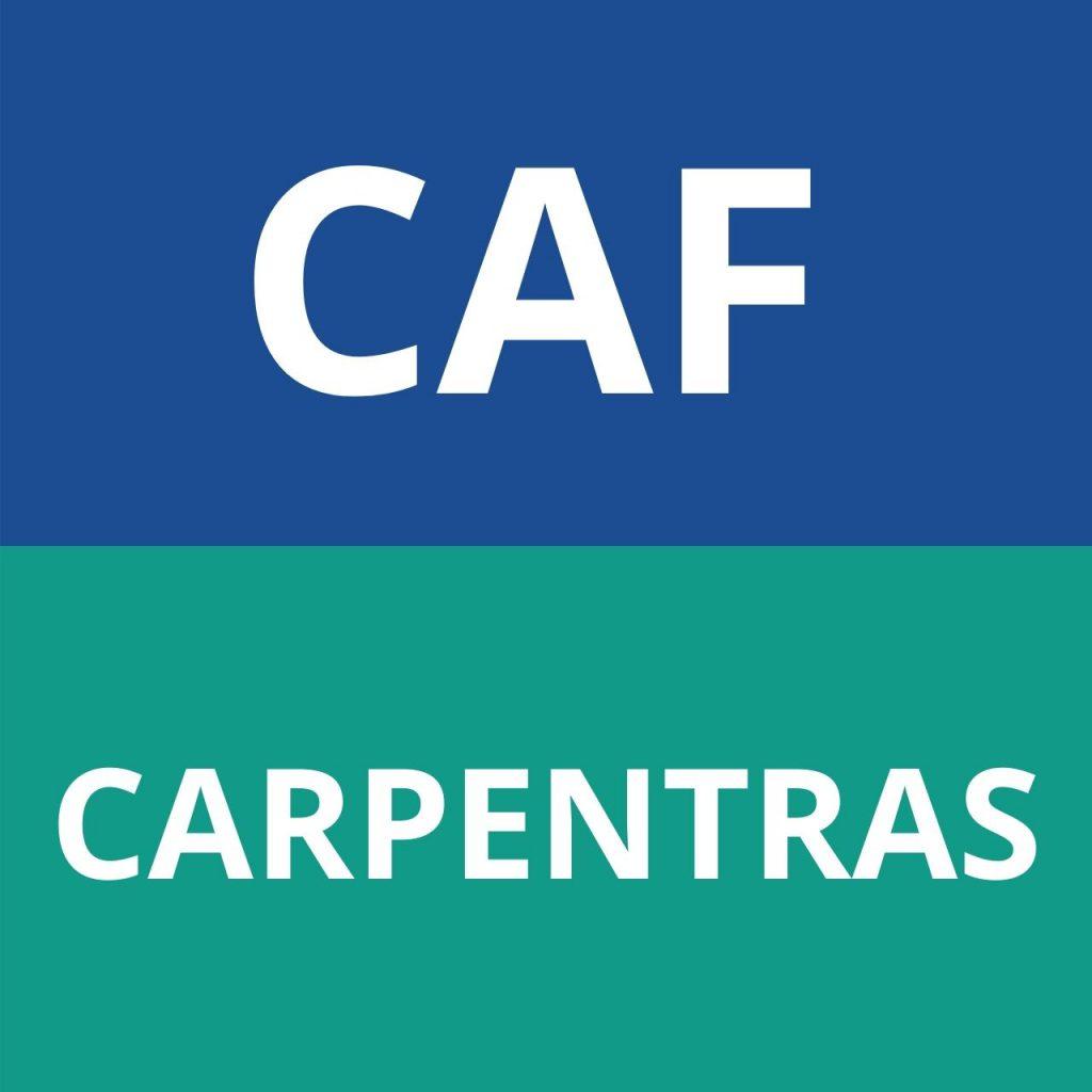 caf CARPENTRAS