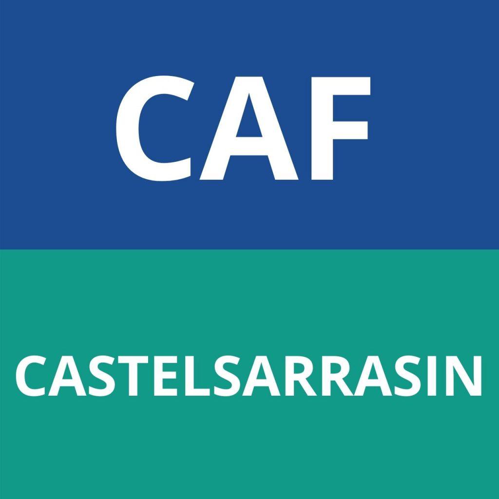 CAF CASTELSARRASIN