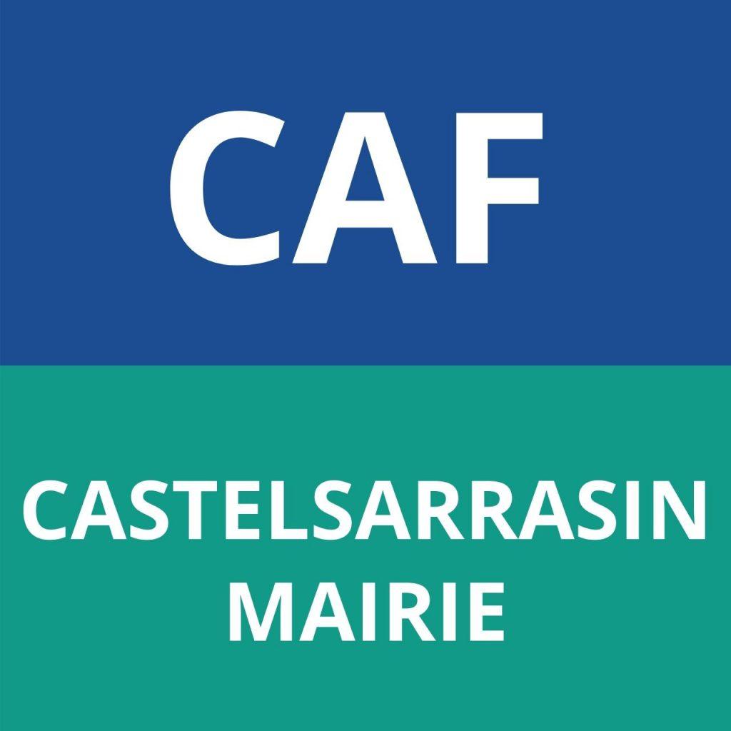 CAF Castelsarrasin MAIRIE