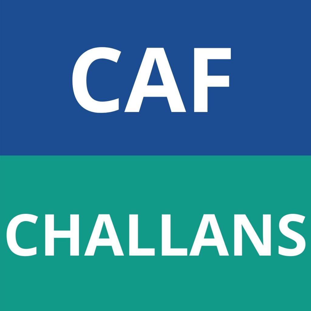 CAF CHALLANS