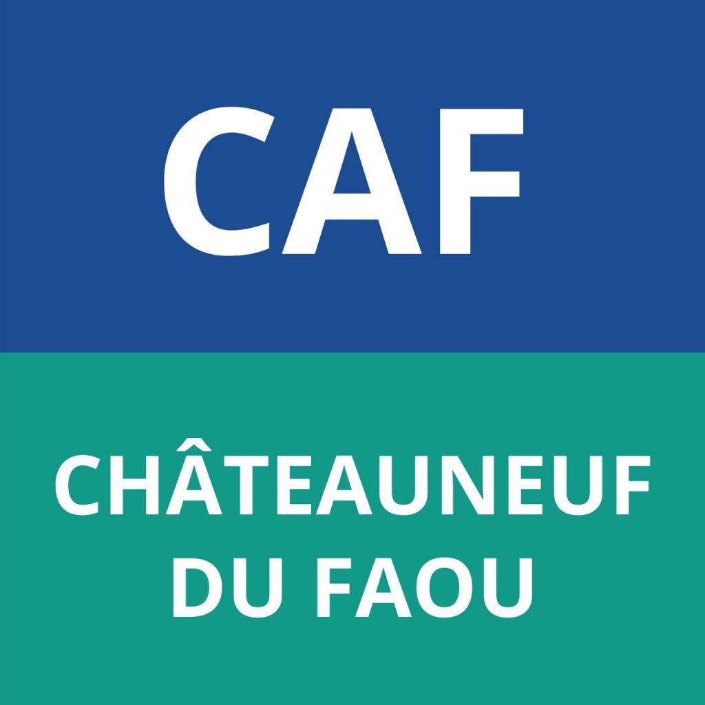CAF CHÂTEAUNEUF DU FAOU