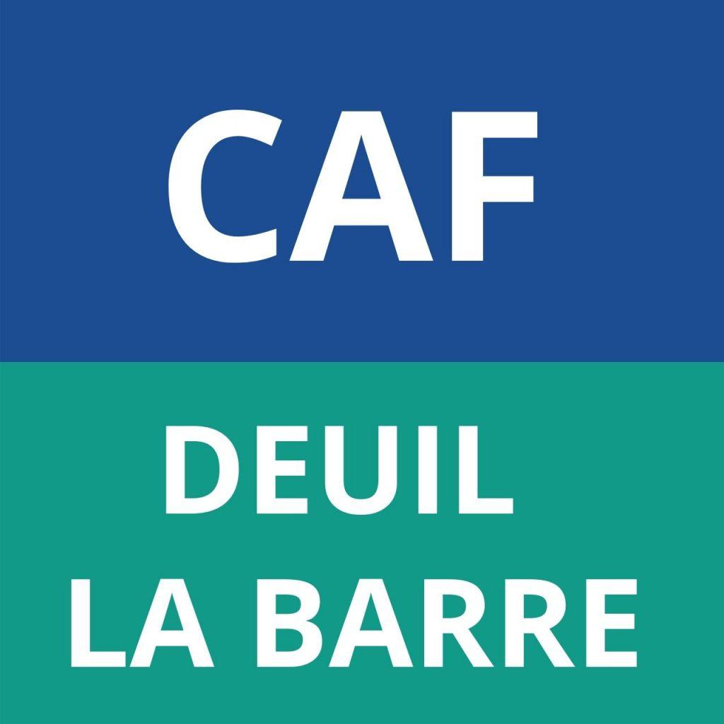 CAF DEUIL LA BARRE
