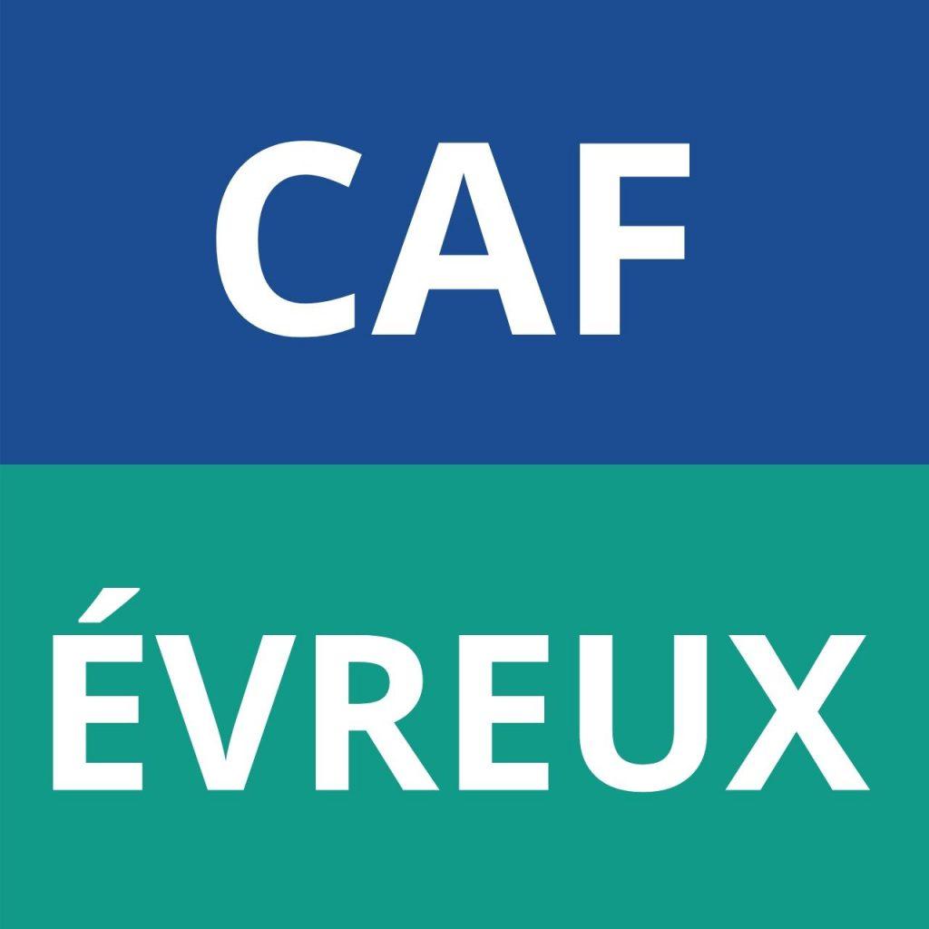 caf ÉVREUX