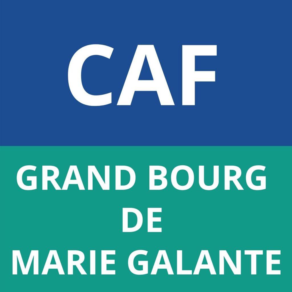 caf GRAND BOURG DE MARIE GALANTE