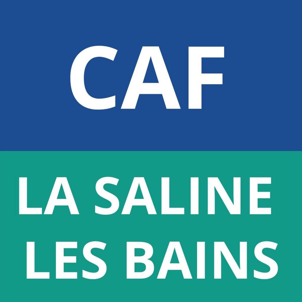 caf LA SALINE LES BAINS