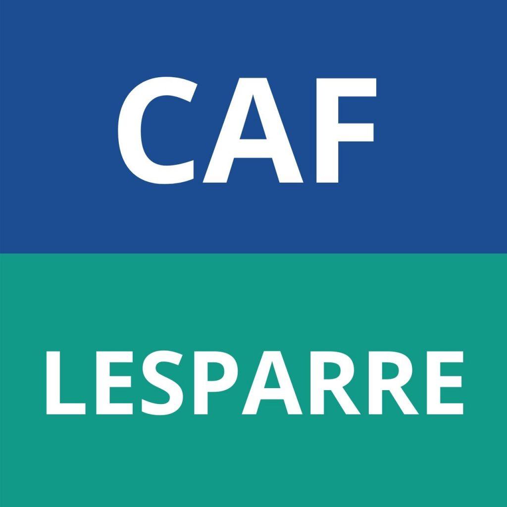 CAF LESPARRE