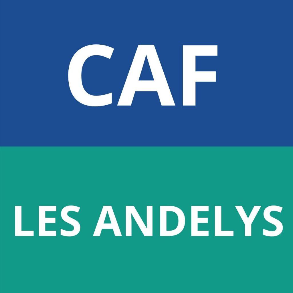 CAF LES ANDELYS