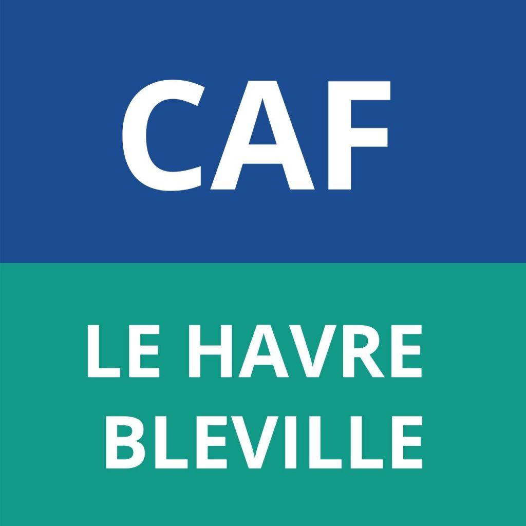 caf LE HAVRE BLEVILLE