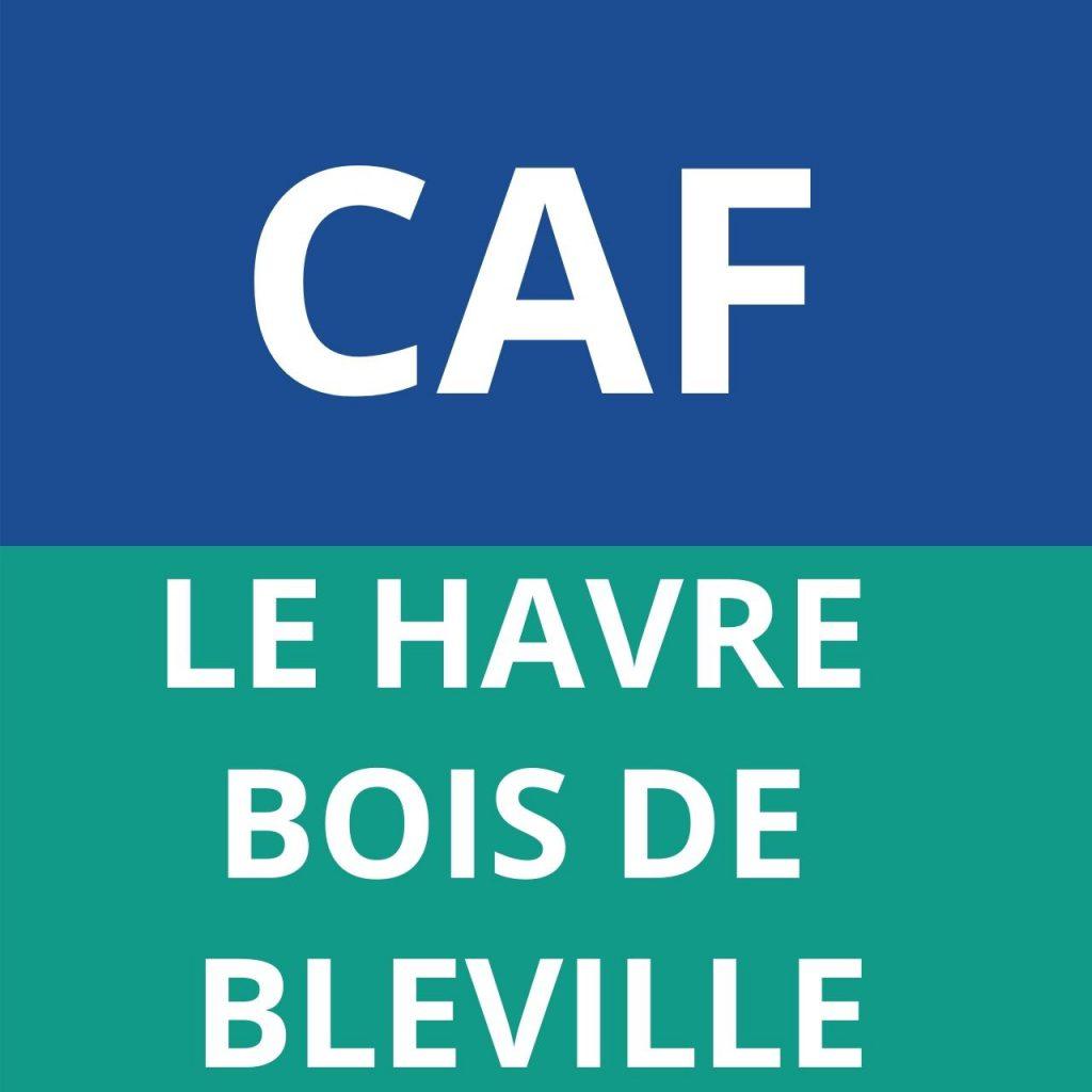 caf BOIS DE BLEVILLE