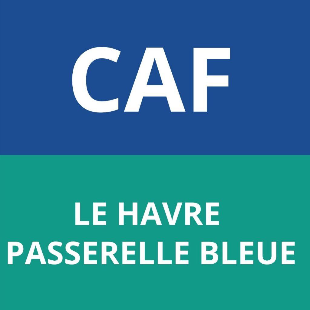 caf LE HAVRE - PASSERELLE BLEUE