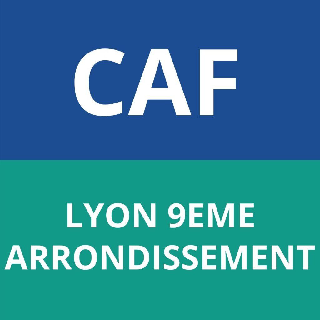 CAF LYON 9EME ARRONDISSEMENT