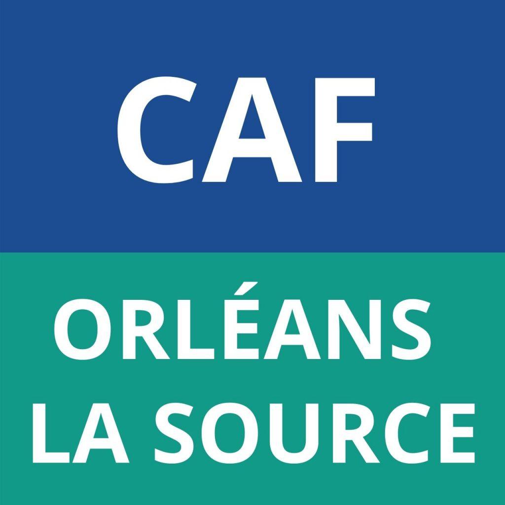 CAF ORLÉANS LA SOURCE