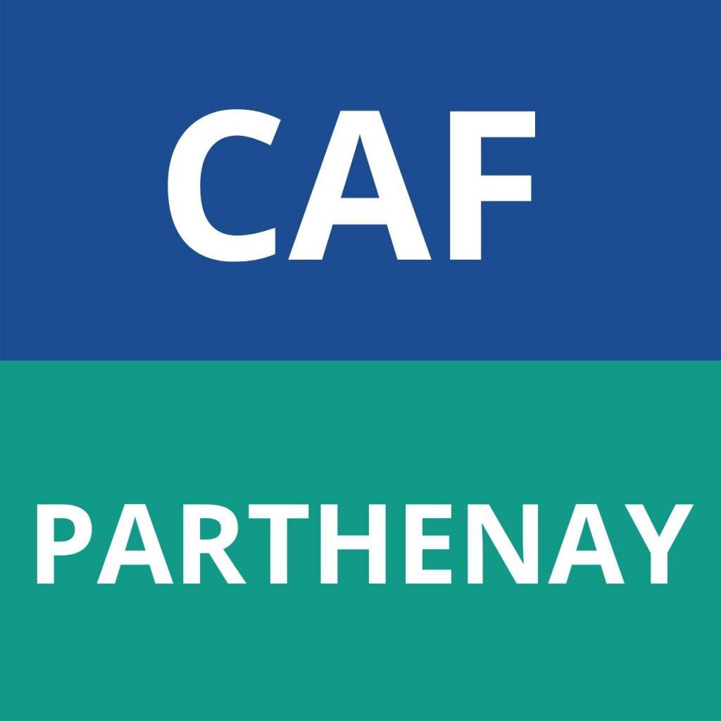 CAF PARTHENAY