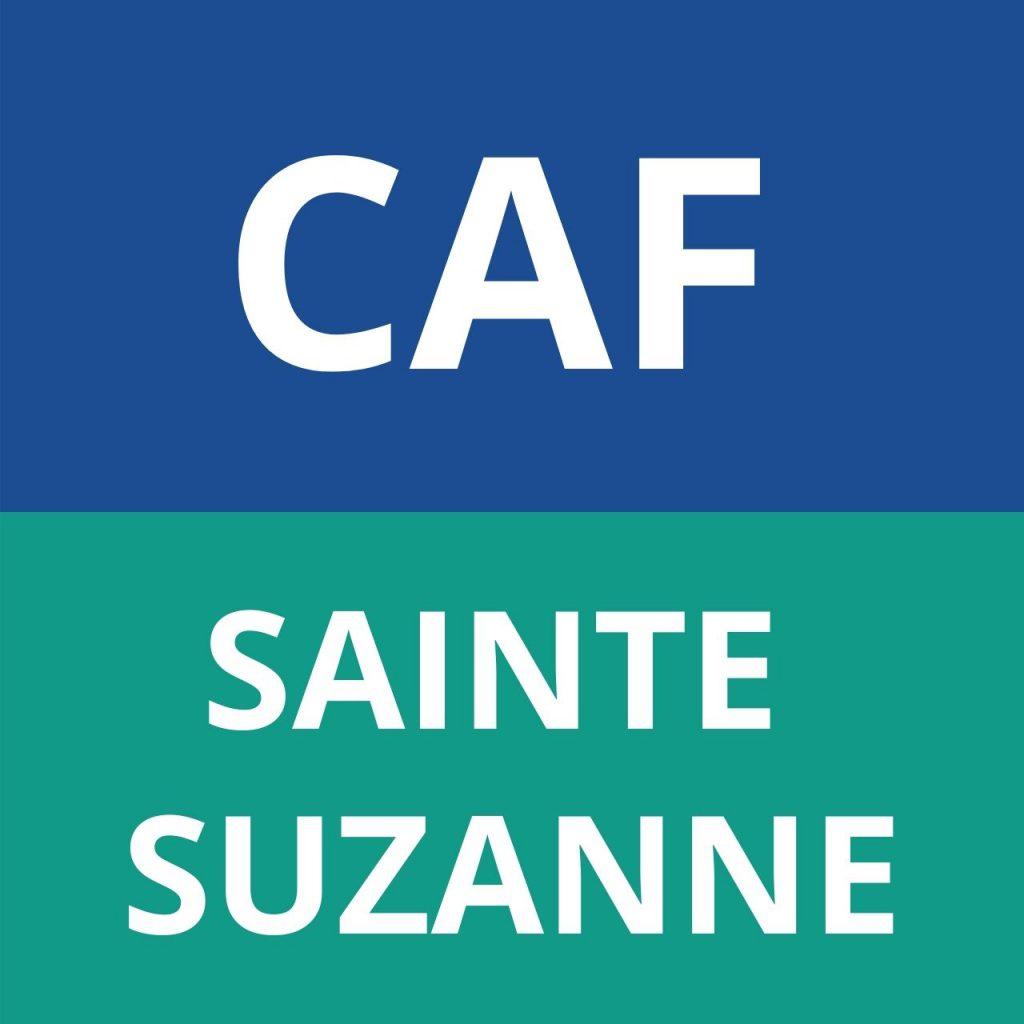 caf SAINTE SUZANNE