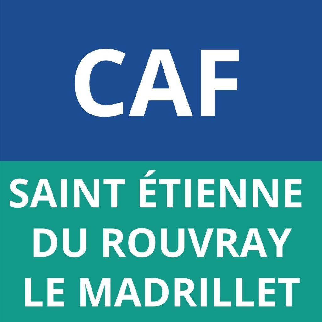 caf LE MADRILLET saint étienne du rouvray
