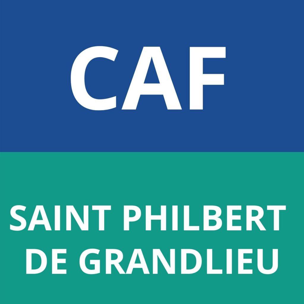 CAF SAINT PHILBERT DE GRANDLIEU