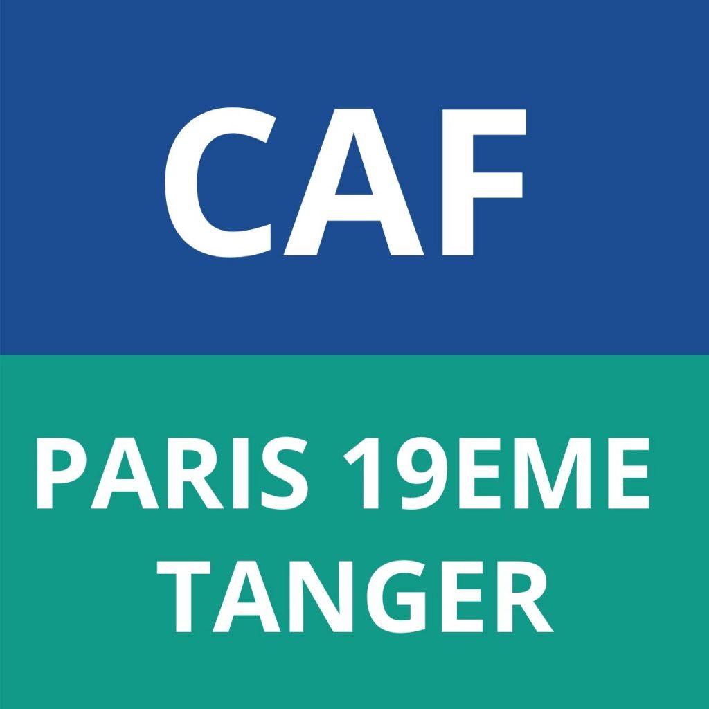 CAF PARIS TANGER 19EME