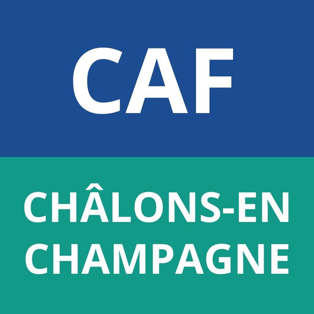 caf CHÂLONS-EN-CHAMPAGNE