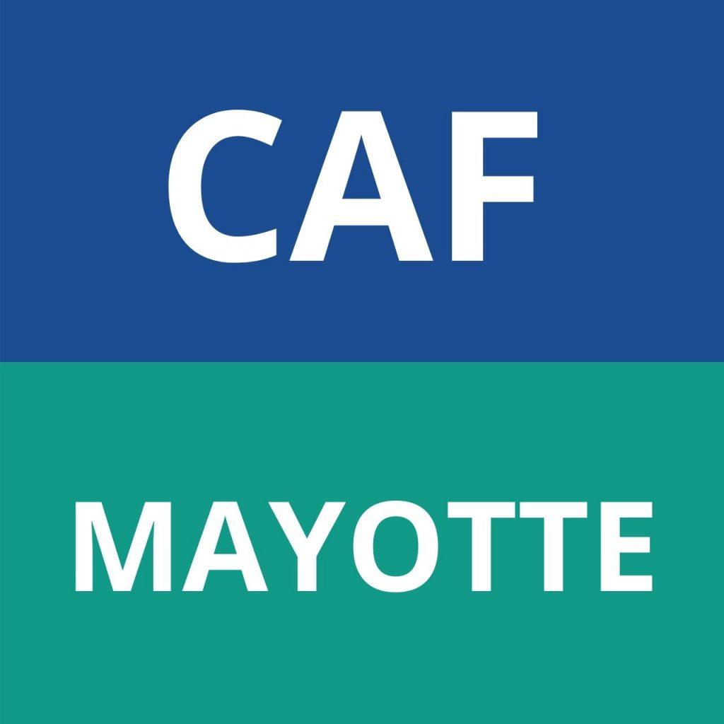 CAF MAYOTTE