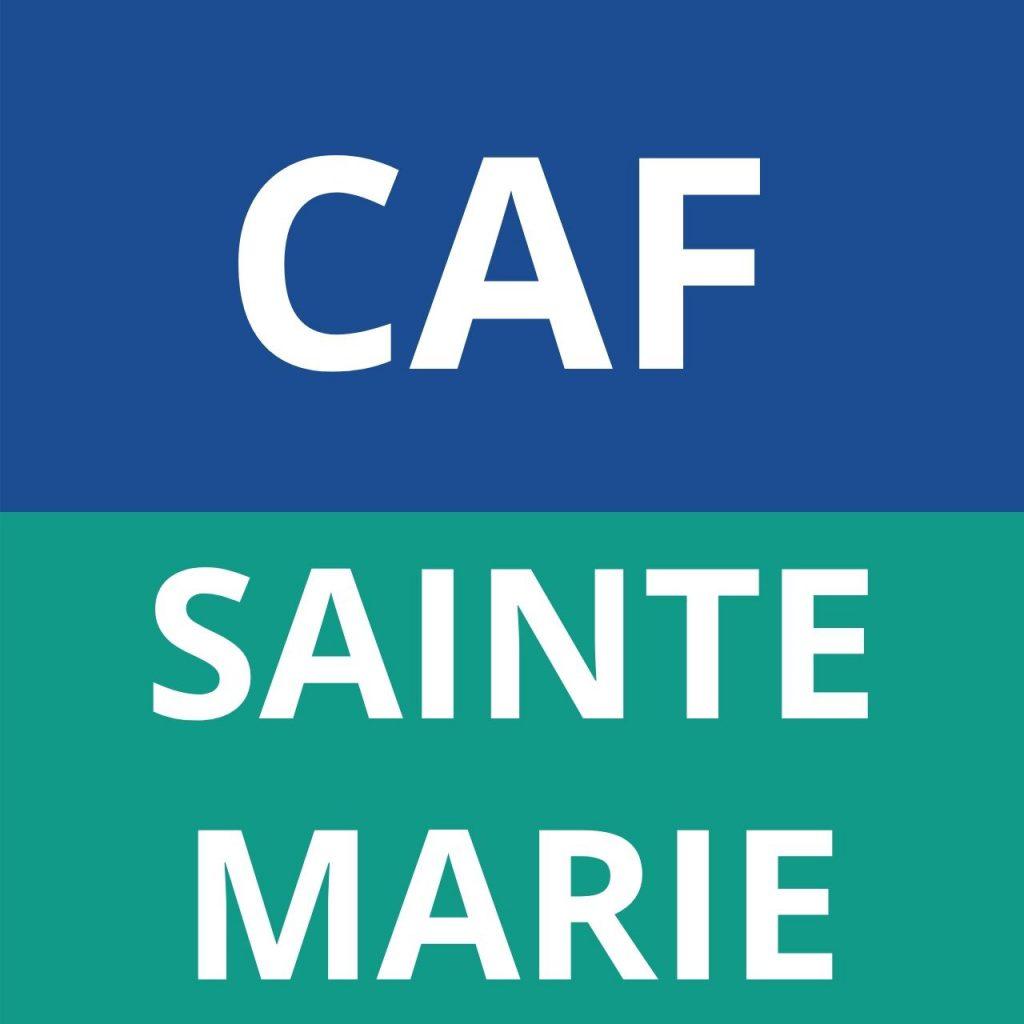 CAF SAINTE MARIE