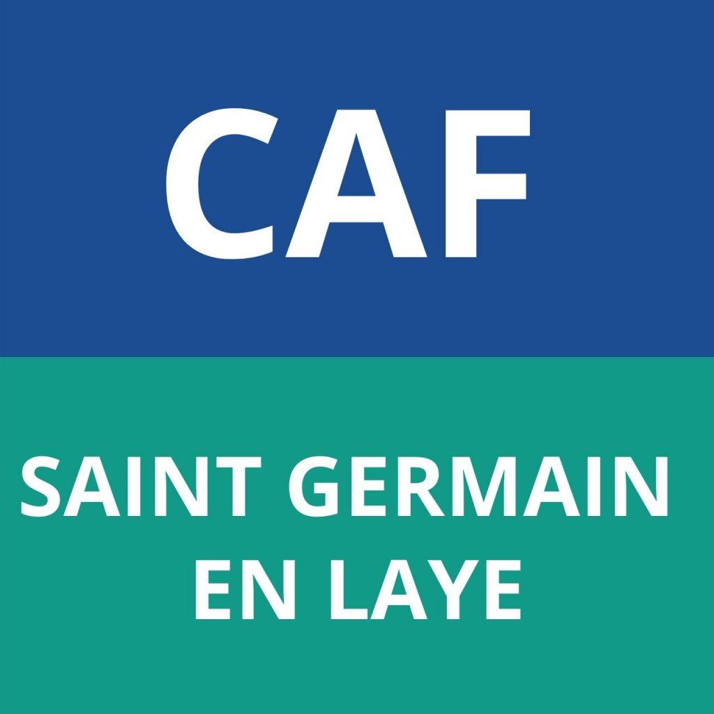 CAF SAINT GERMAIN EN LAYE