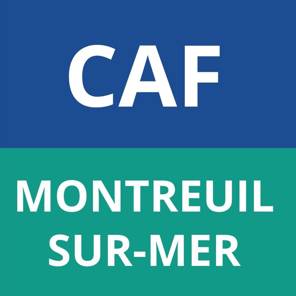 CAF MONTREUIL-SUR-MER