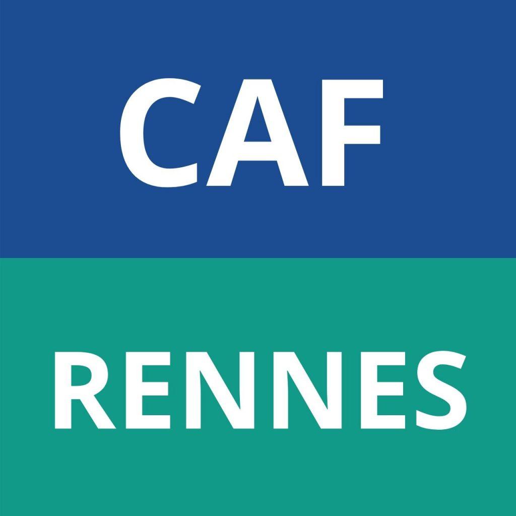 CAF RENNES