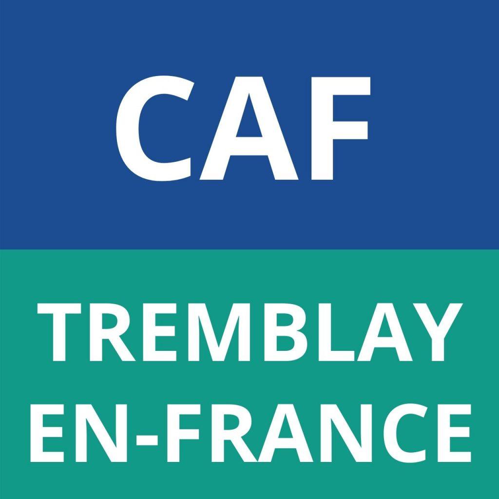 CAF TREMBLAY-EN-FRANCE