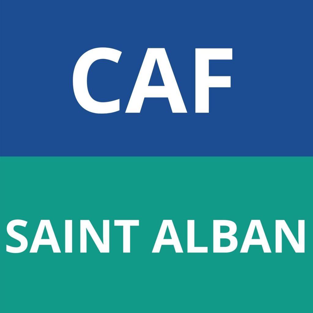 CAF SAINT ALBAN