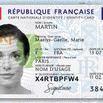 Nouvelle acrte nationale d'identité