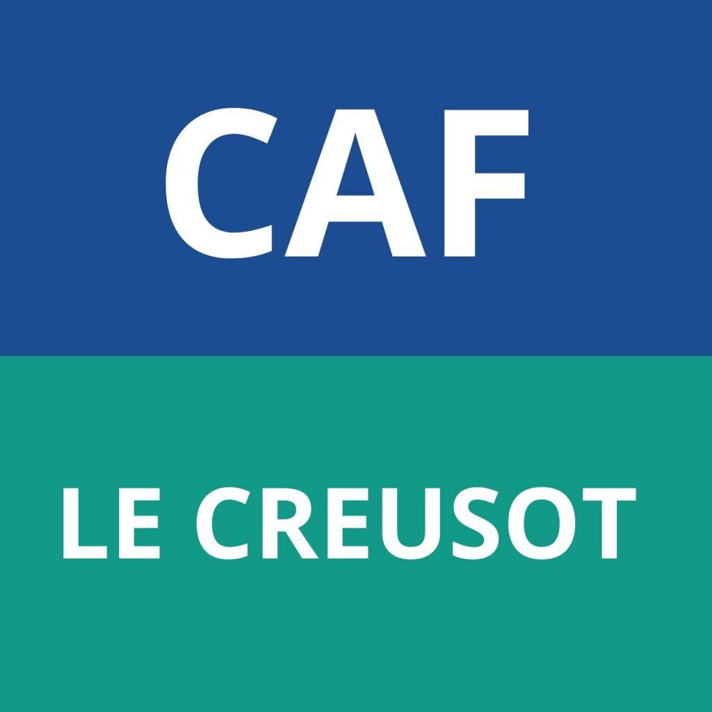 CAF LE CREUSOT