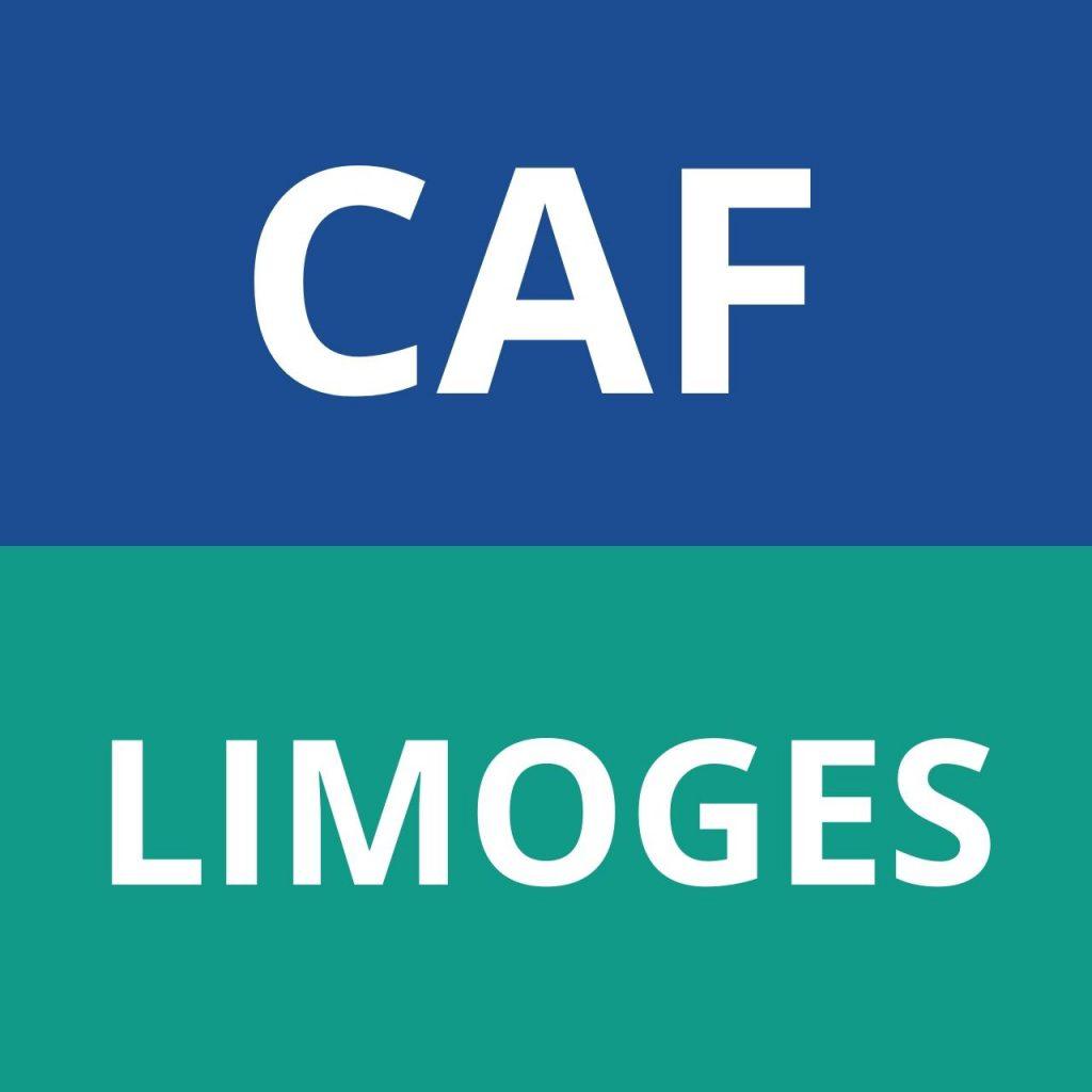 CAF LIMOGES