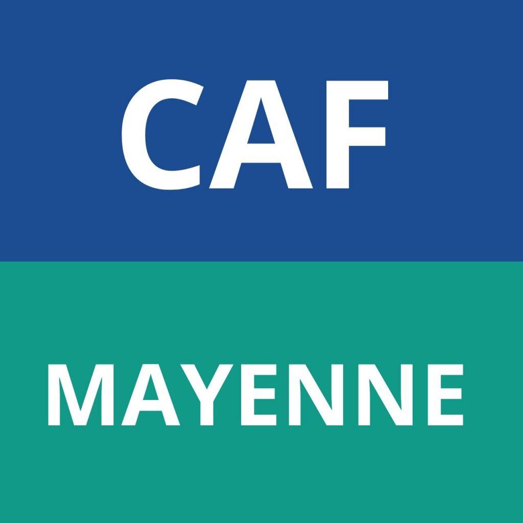 CAF Mayenne