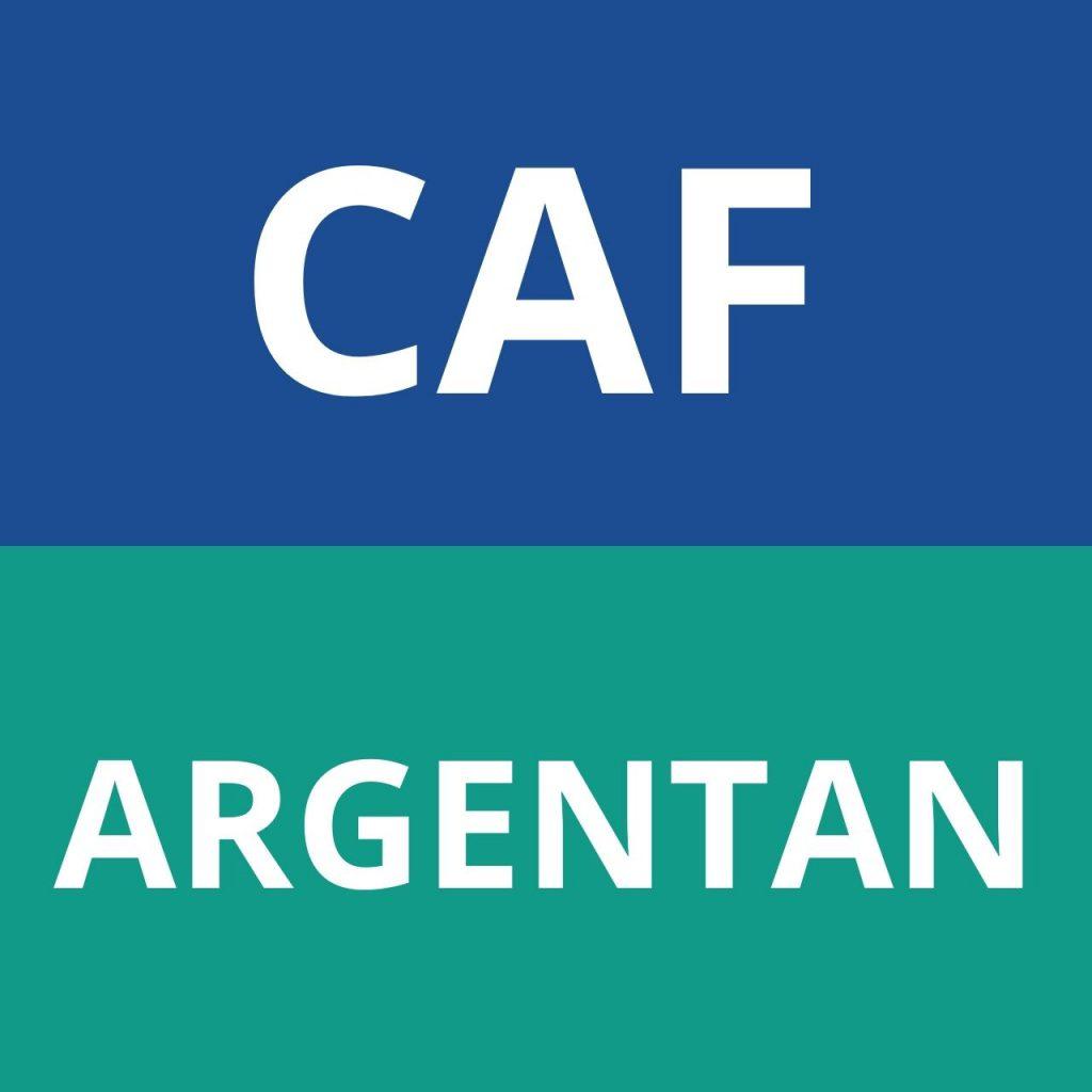 CAF ARGENTAN