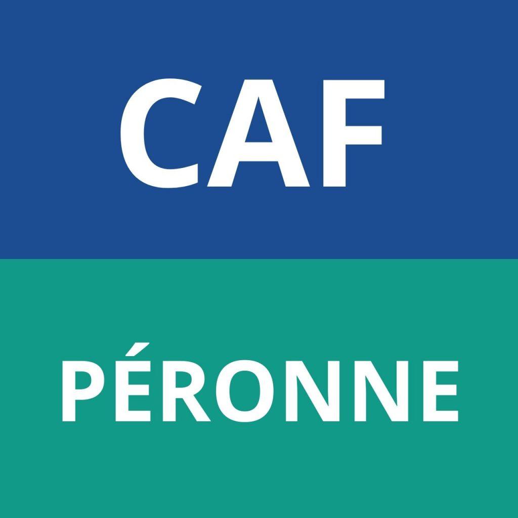 CAF PÉRONNE